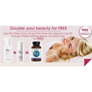 Double Your Beauty Free Multi Vitamins Offer