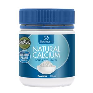 Lifestream Natural Calcium Powder 100g