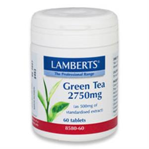 Lamberts Green Tea 2750mg