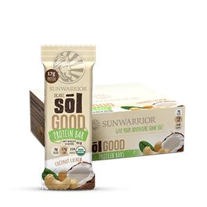 NEW Sol Good Protein Bar- Coconut Cashew