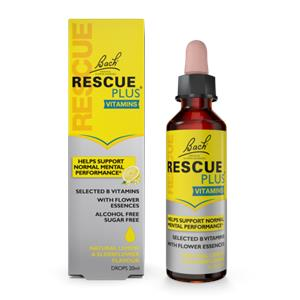 Bach Rescue PLUS Drops