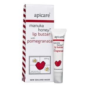Apicare Manuka Honey With Pomegranate Lip Butter