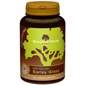 Organic New Zealand Barley Grass Capsules